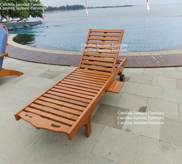Kursi Berjemur bahan kayu jati , harga 1.650.000